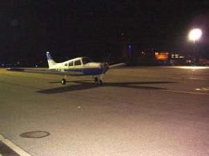 Vol de nuit côté piste