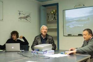 René Amoretti, Jean-Jacques Franceschini et Pierre Tréhin présentent l'ATO.