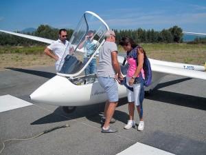 Les adeptes du vol moteur goûtent aux joies du vol à voile