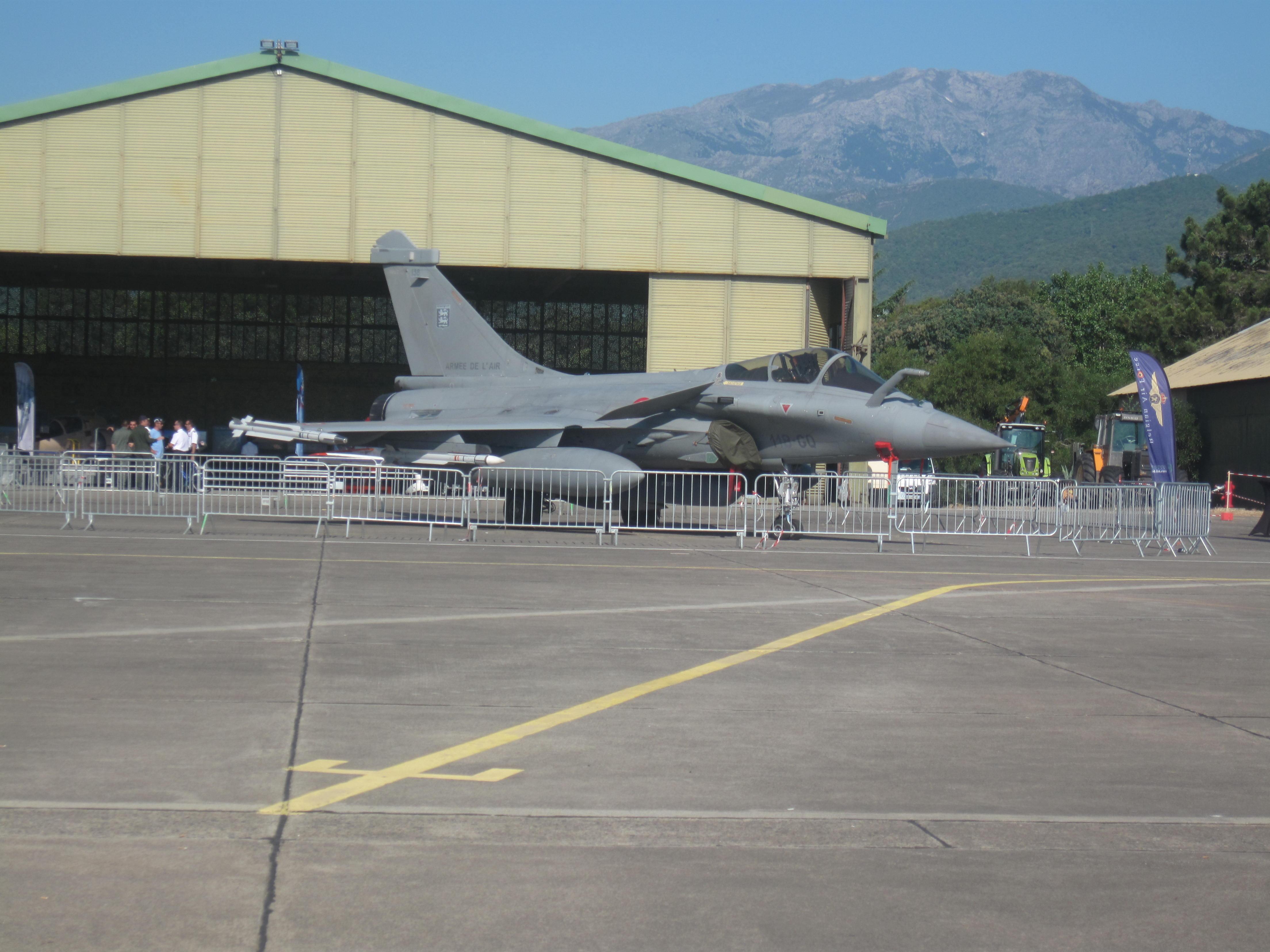 Le Rafale, fleuron de notre aéronautique militaire.