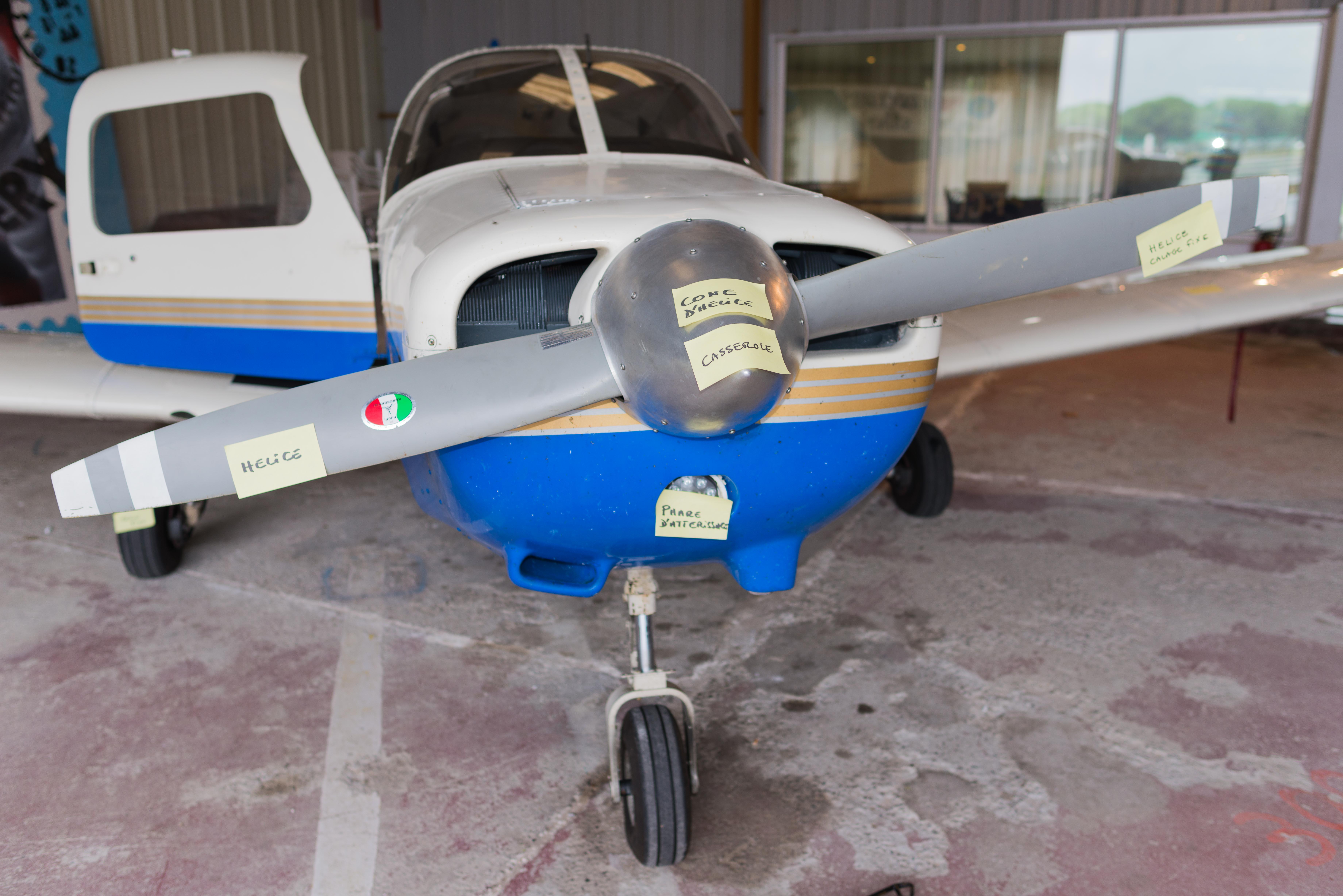 BIA 2016 : Révisions et découverte de l'avion